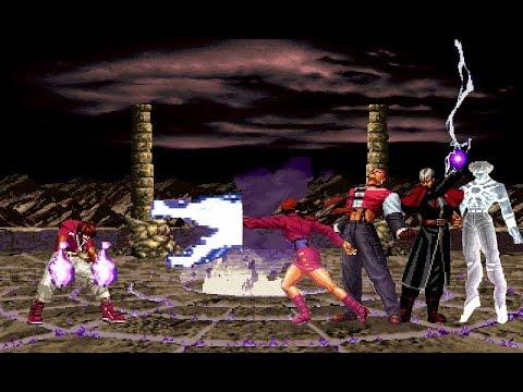 MUGEN KOF Innovation Chris Vs. Super Orochi Boss Team