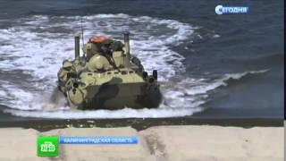 Учения ВМФ РФ в Крыму и дерби морпехов в Калининграде