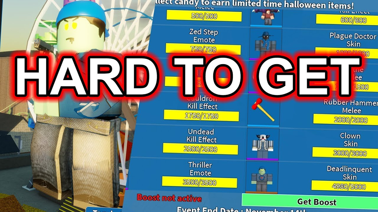 All Roblox Halloween Event Items Arsenal Event Ends All Halloween Items Roblox Youtube