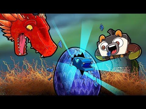 Minecraft Dragons - NEW BABY WATER DRAGON HATCHES!
