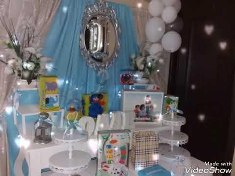 تحضيرات عيد ميلاد افكار بسيطة و سهلة لعيد ميلاد طفل سنة كل من تجهيزي Youtube