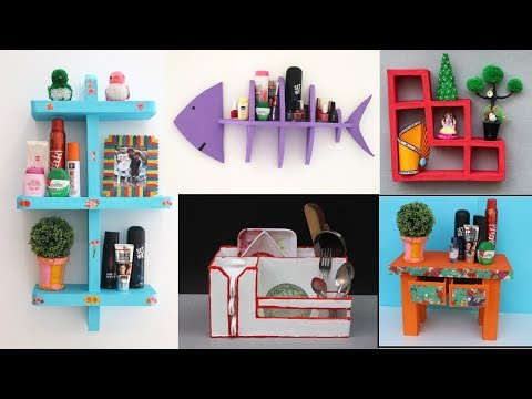 5 Best DIY Organization ideas || Room Organization || waste material craft ideas