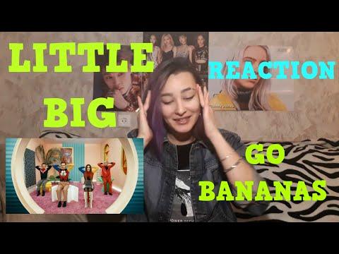 Little Big - Go Bananas [MV REACTION]