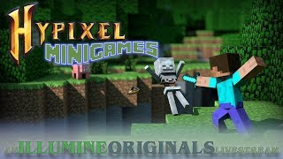 🔥Hypixel Minigames ⚔️ Minecraft ⚔️ Join My Party ⚔️ NCS Music