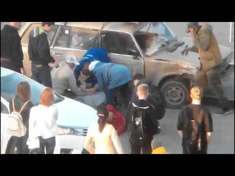 Авария на Коммунистическом в Ростове