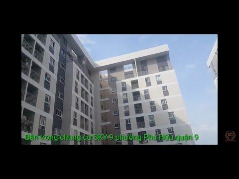Bên trong chung cư sky 9 phường Phú Hữu