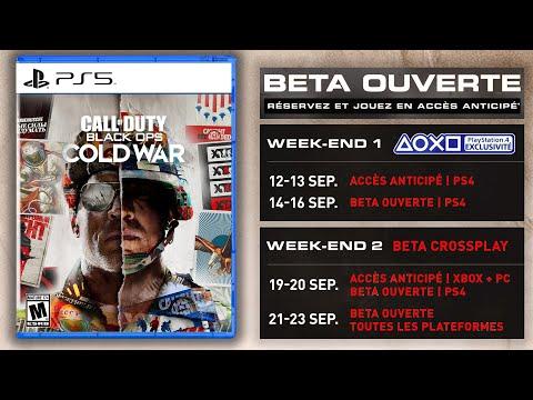 Black Ops Cold War Beta Bonus Pre Commande Pack Woods Leak New Cod2020 Youtube