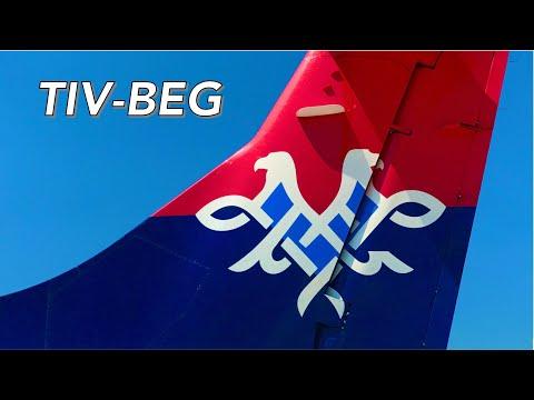 FLIGHT REPORT | Air SERBIA ATR 72-500 Economy | TIV-BEG