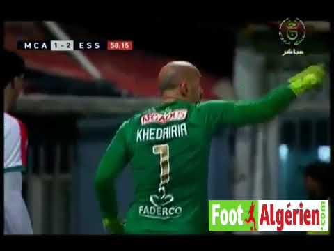 Ligue 1 Algérie (14e journée) : MC Alger 1 - 2 ES Sétif