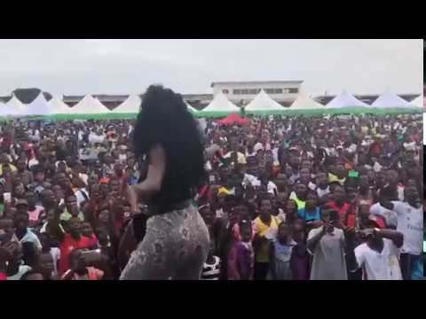 Wendy Shay - Performs 'Uber Driver' 1st time @ Dr. Osei Kwame Despite Health Fair