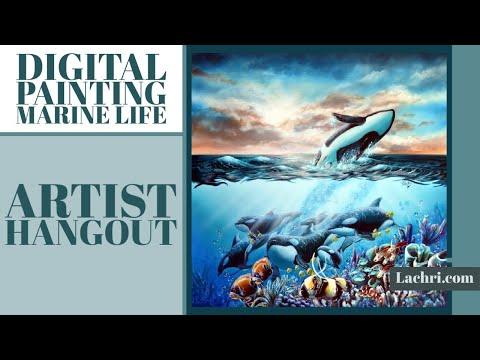 Digital Coral Painting