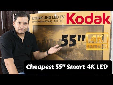 Kodak 55 Inch UHD 4K TV Unboxing & Review   Happy Diwali :)