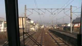 桜井・和歌山線(5倍速) 奈良→高田→王寺 前面展望