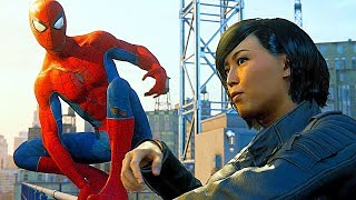 Spider-Man PS4: Help Yuri Watanane clean up the streets Spectacular Difficulty 4k Ultra HD 2160p