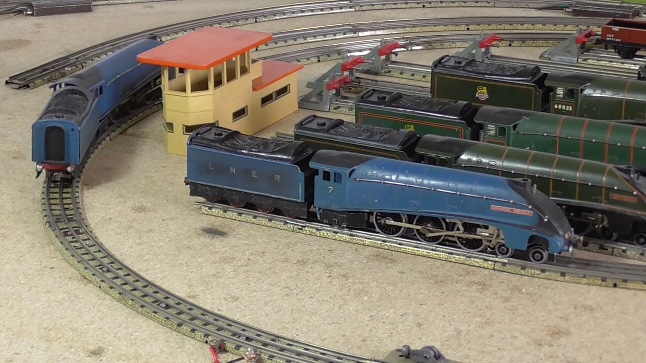 3 Rail Track Wiring Unlimited Access To Diagram Information Reverse Loop Dcc Hornby Dublo Lindum No A4s And Part 1 Youtube Rh Com Model Train Ho Scale
