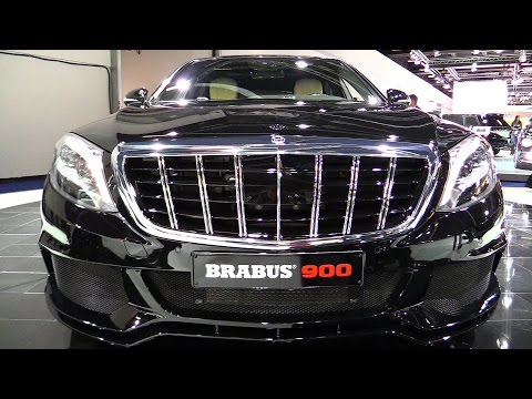 2016 Mercedes Maybach S600 Brabus 900hp