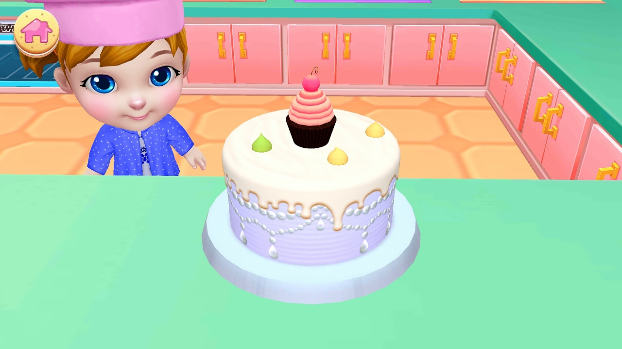3D CAKE Wedding Cake Gameslearn how to make cakes Real Cake