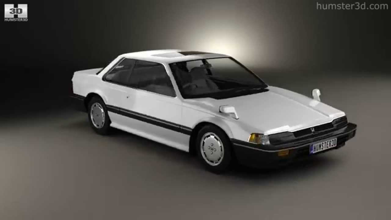Honda Prelude 1983 By 3d Model Store Humster3d Com