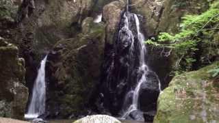 岡山県真庭市 山乗渓谷 不動滝 20130817