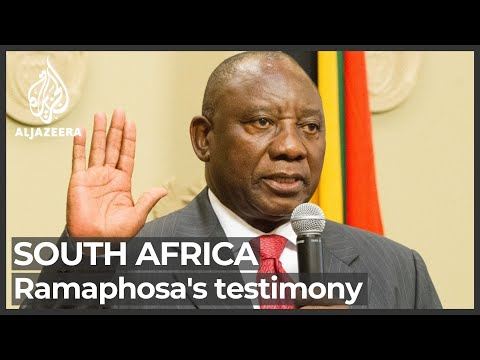 South Africa corruption inquiry: Cyril Ramaphosa testifies for second day