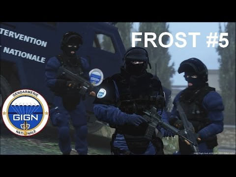 GTA 5 - LSPDFR - GENDARMERIE NATIONALE - GIGN - PROTECTION DES CIVILS - FROST #5
