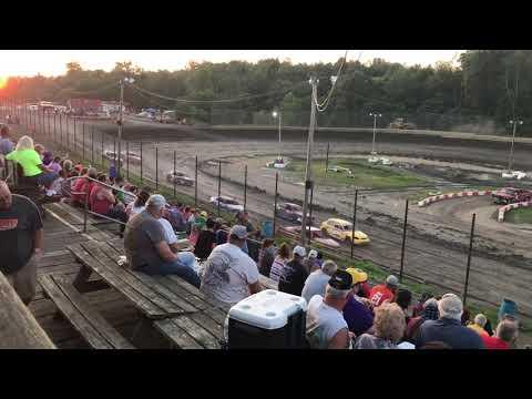 Hilltop Speedway - Ministock Heat 1 - 8/2/19