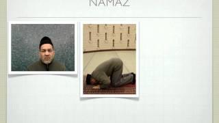 Namaz - Dansk oversættelse af den daglig bøn.
