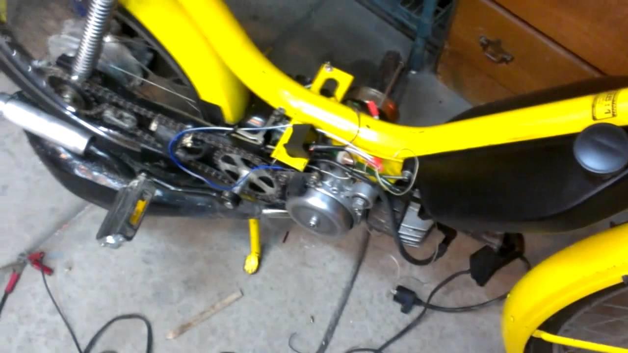 Honda Hobbit Cdi Conversion Youtube Wiring C70