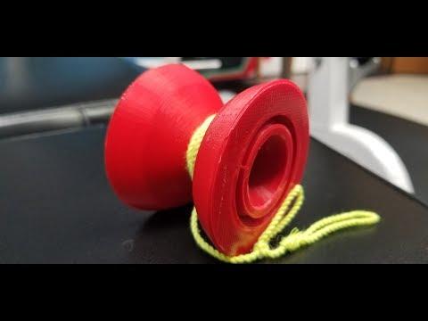 3D Printed YoYo. Jeffery Pang Playto YoYo Print And Review.