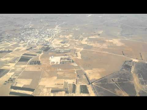 KKTC Ercan Havalimanı İniş Landing Cyprus