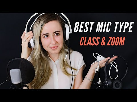 Which Mic Type is Best for Zoom, Class, Recording 🎙️ 2020   Headsets, Lavaliers, & Podcasting Mics