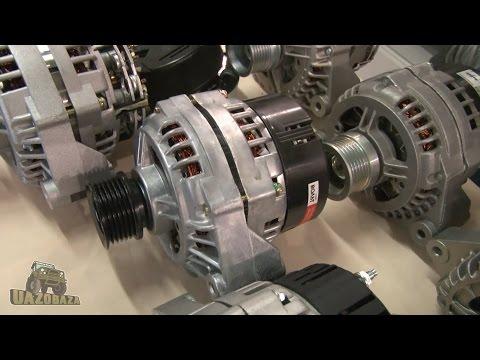 UAZOBAZA # 36 Обзор генераторов для автомобилей УАЗ