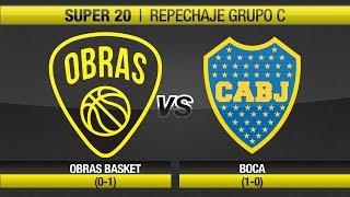 Highlights Obras Basket 68-71 Boca (28-10-2017)