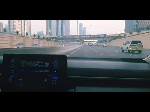 Downtown Dubai Toyota Corolla 2020 Aj Kal Vey Song Part 2