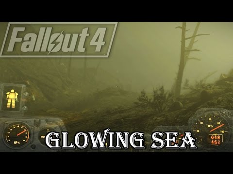 "Fallout 4 Quest: ""The Glowing Sea"" Finding Virgil and Deathclaws are everywhere!"