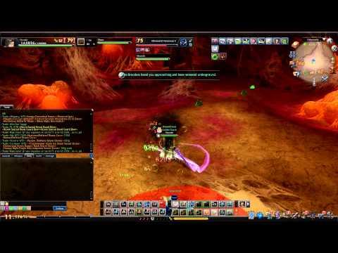 Otherworld: Deep Caverns (Party) - Crusader/Bard Solo | Aura Kingdom