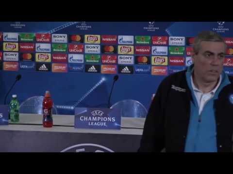 Conferenza stampa di Zidane alla vigilia di Napoli-Real Madrid (06/03/2017)