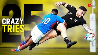 25 Crazy RUGBY Tries 2019/20