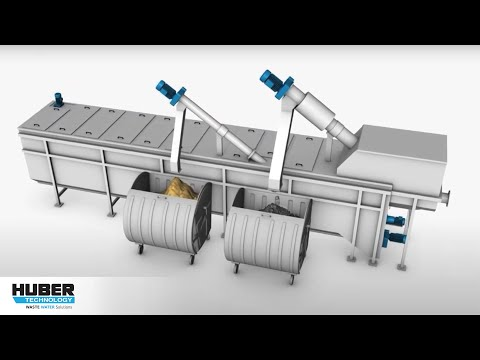 Animation HUBER Complete Plant ROTAMAT® Ro5