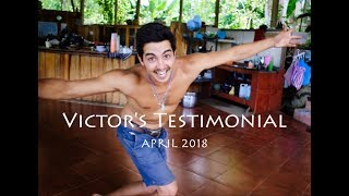 Victor is sharing his experience in Florestral, April, 2018