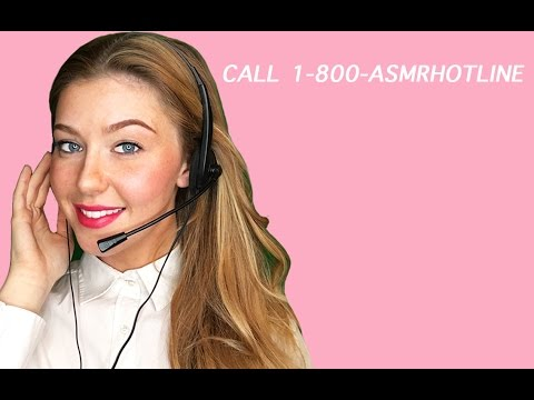 ASMR Trigger Hotline Roleplay | Tapping, Scribbling, Paper Crinkling & More Triggers