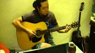 Cha  - MTV cover - solo guitar