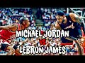 What If a Team of Michael Jordans Played a Team of Lebron James?