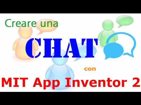 Mit App Inventor 2 ITA# Tutorial 24 CHAT 2.0