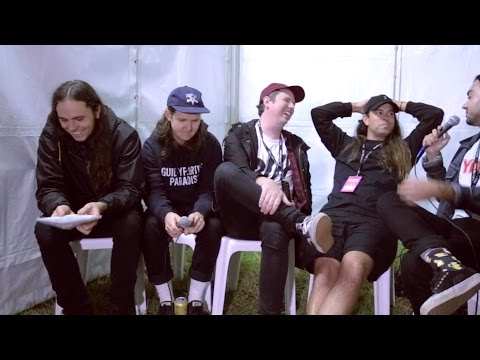 YEWTH   Violent Soho interview at Groovin The Moo 2017