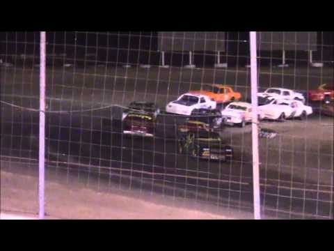 Outlaw Pure Stocks at Lubbock Speedway 9-5-15