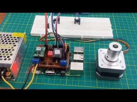 Raspberry PI 3 B+ NanoDlp part 2