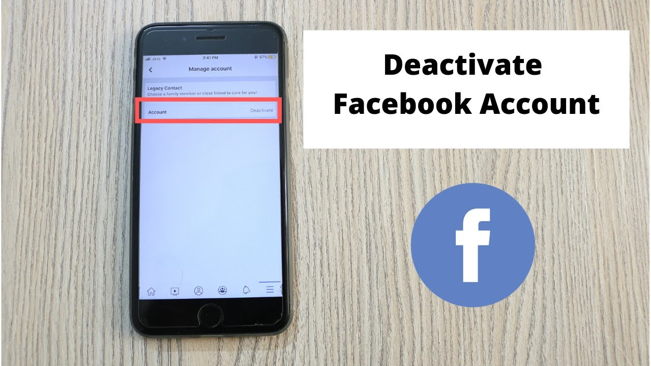 How to Deactivate Facebook Account on iPhone (26)