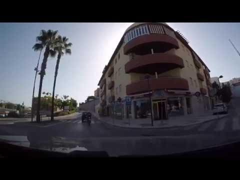 Driving East From Malaga to Frigiliana