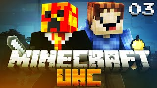 Minecraft UHC SEASON 7 (ULTRA HARD CORE) #3 with PrestonPlayz & MrWoofless